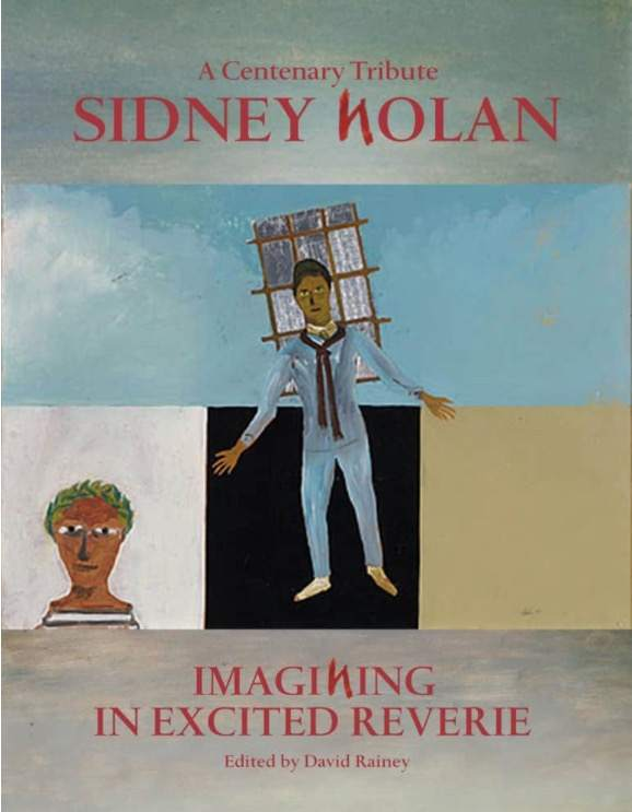 """Imagining in Excited Reverie: Sidney Nolan, a Centenary Tribute"". The painting is Nolan's 1948 ""Orphée"", collection NGA."